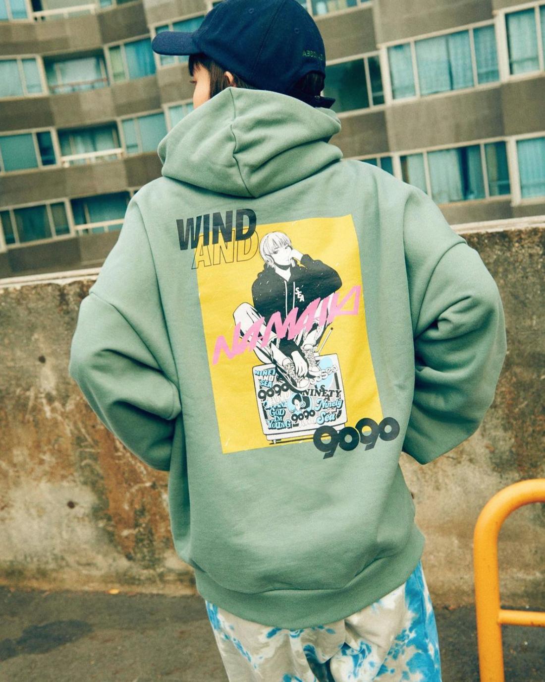 9090 × WIND AND SEA